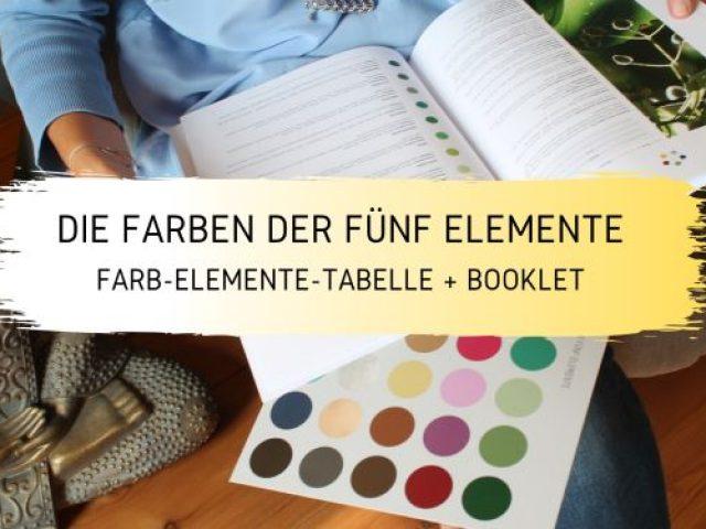 Die Farben der fünf Elemente