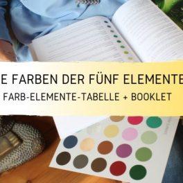 Die Farben der 5 Elemente